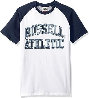 Russell Athletic Heritage Men's Pro Block Iconic Arch Raglan T-Shirt