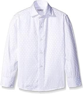 Isaac Mizrahi Boys' Textured French Cuff Shirt