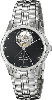 Edox Grand Ocean Swiss Automatic Silver-Tone Women's Watch