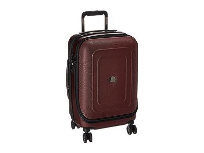 Delsey Cruise Lite Hardside 19 International Expandable Spinner (Black Cherry) Luggage