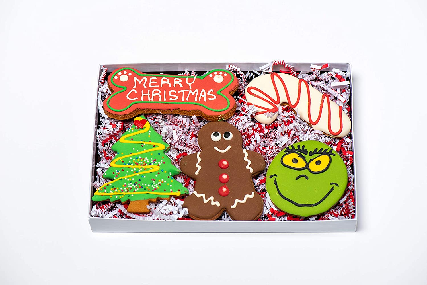 New popularity BoxDog Handmade Chicago Mall Christmas Cookie for Dogs Gift