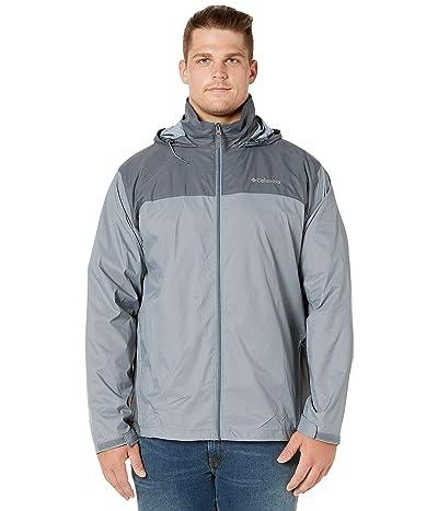 Columbia Big Tall Glennaker Laketm Jacket (Grey Ash/Graphite) Men