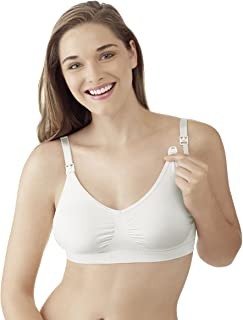 Schwangerschafts-und Still BH Sujetador, Blanco, 40 (Talla de Fabricante: L) para Mujer
