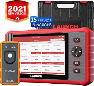 LAUNCH Scanner CRP909X, 2021 New OE-Level Full System Scan Tool 16 Reset IMMO Auto VIN Android...