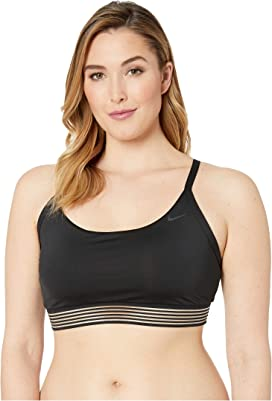 8cbecf635450f Nike 6:1 Shine Stripe Cross-Back Tankini at Zappos.com