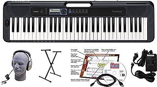 Casio CT-S300 61-Key Premium Keyboard Package with Headphone