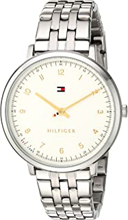 Tommy Hilfiger Women's Quartz Watch, Analog Display and Stainless Steel Strap 1781762