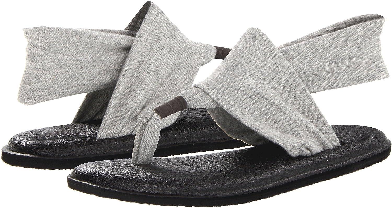 Sanuk Women's Selene Crystal Flip-Flop Black