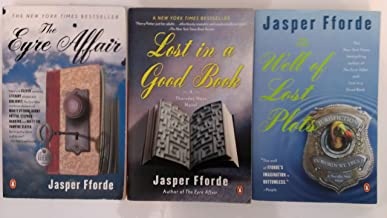 Thursday Next Series Set: The Eyre Affair, Lost in a Good Book, The Well of Lost Plots (Volumes 1-3)