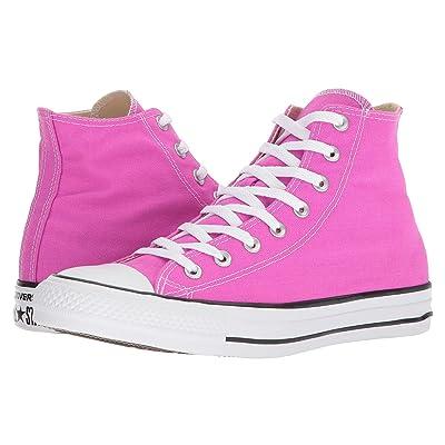 Converse Chuck Taylor(r) All Star(r) Seasonal Color Hi (Hyper Magenta) Lace up casual Shoes
