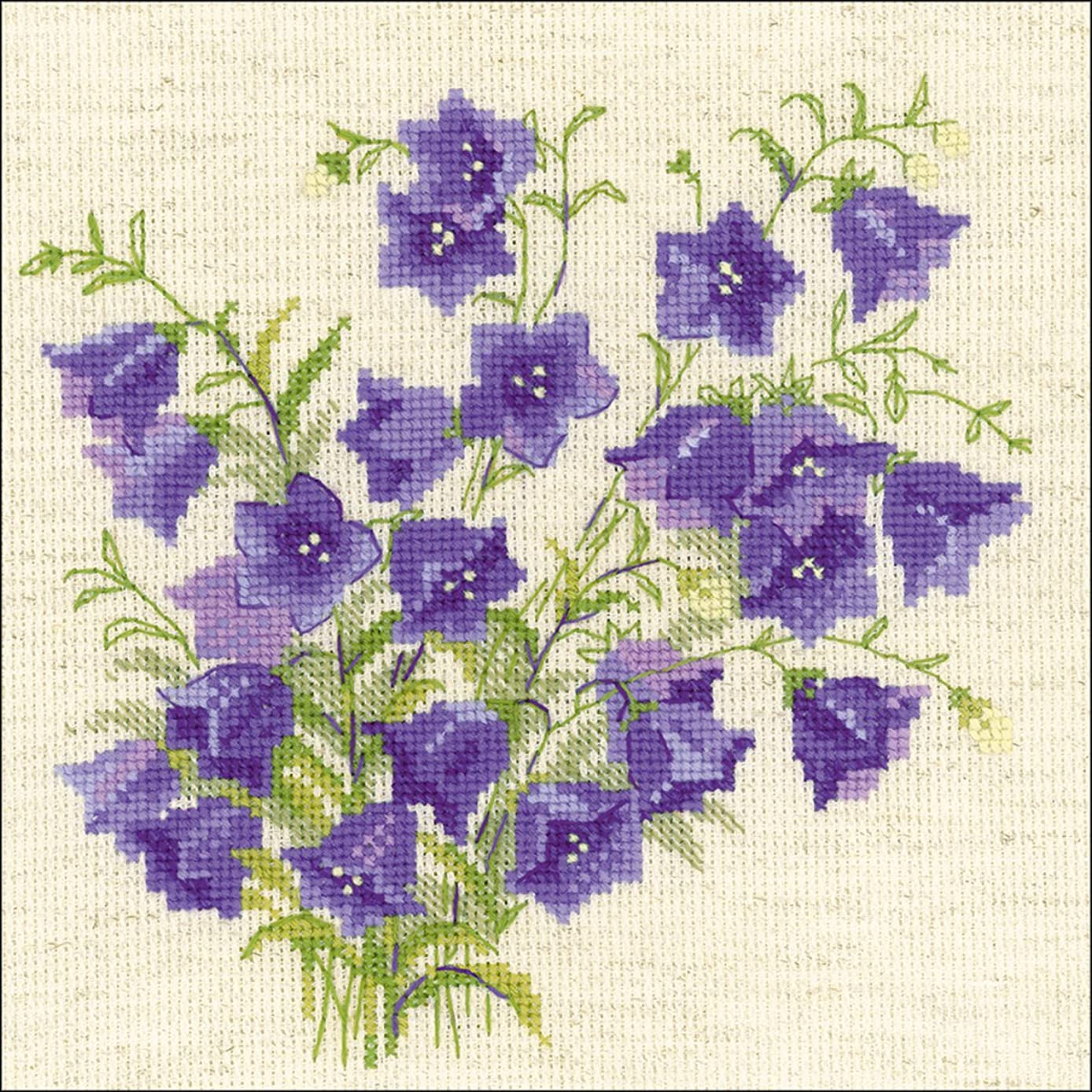 RIOLIS 1557 - Bellflower - Counted Cross Stitch Kit 8