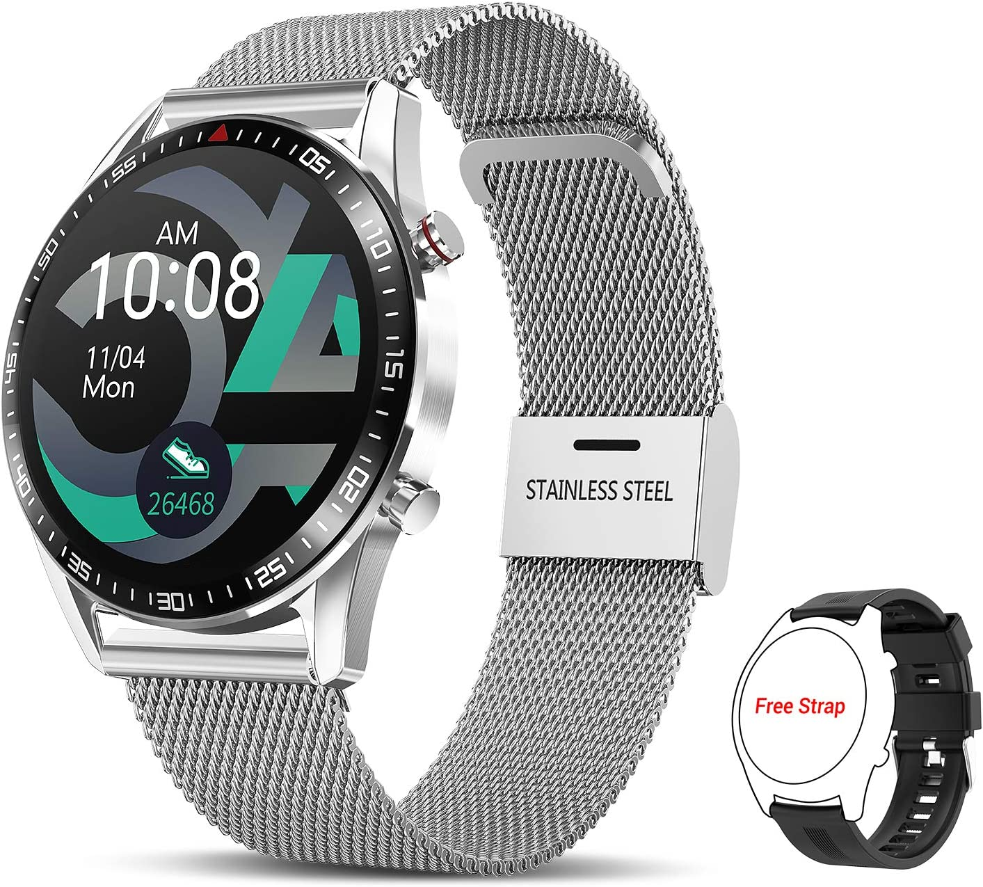 San Antonio Mall Tagobee Max 62% OFF Smart Watch for Android Smartwatch iOS Phones Bluetooth