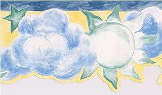 clouds wallpaper border