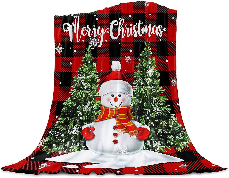 Christmas Flannel Throw Blanket-Soft Plush Fleece Bl Lightweight online New arrival shop