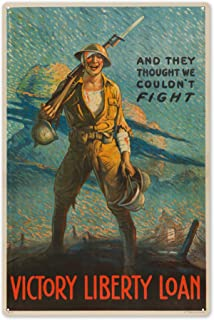 Victory Liberty Loan Vintage Poster (Artist: Forsythe) USA c. 1915 63248 (6x9 Aluminum Wall Sign, Wall Decor Ready to Hang)