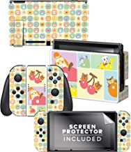 """Controller Gear Aunthentic & Officially Licensed Animal Crossing: New Horizon - """"Ripe for Picking"""" Nintendo Switch Skin Bundle"""