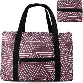 Travel Luggage Duffle Bag Lightweight Portable Handbag Pitaya Pattern Large Capacity Waterproof Foldable Storage Tote