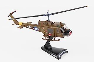 Daron Worldwide Trading Postage Stamp UH-1 Huey MEDEVAC US Army Vehicle (1/87 Scale)