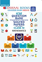 Oswaal ICSE Question Bank Chapterwise & Topicwise Solved Papers, Class-10, Mathematics (For 2021 Exam)