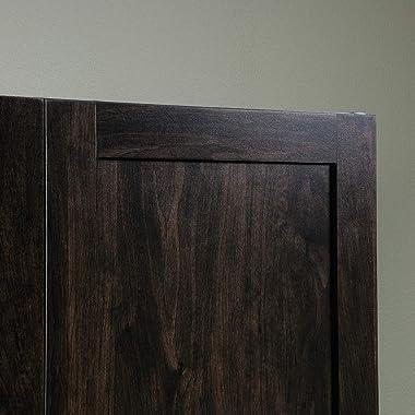 "Sauder 419496 Miscellaneous Storage Storage Cabinet, L: 29.61"" x W: 16.02"" x H: 71.50"", Cinnamon Cherry finish"