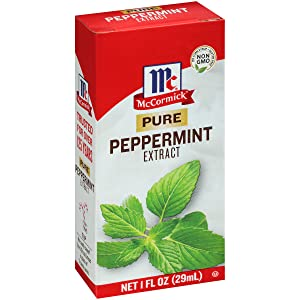 McCormick Pure Peppermint Extract, 1 fl oz (Pack of 6)