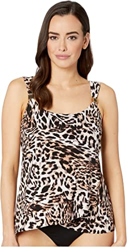 Sublime Feline Dazzle Tankini Top