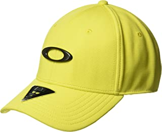 Oakley Mens Men's TINCAN Cap, Blazing Yellow, S/M