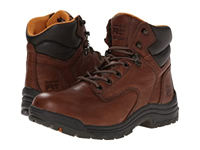Timberland PRO TiTAN(r) 6 Soft Toe (Coffee Full-Grain Leather) Women
