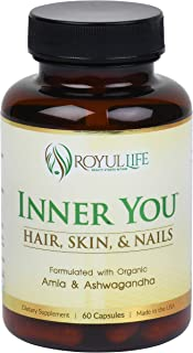 Sponsored Ad - Natural Hair Growth Vitamins with Lab Certified Ashwagandha and Amla for Longer, Stronger, Thicker Hair - H...