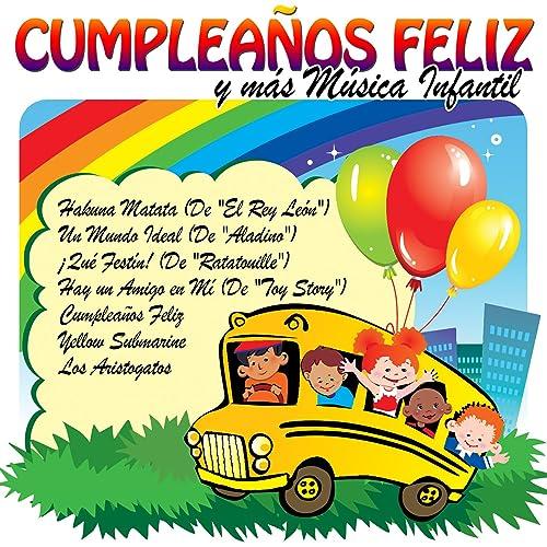 Cumpleaños Feliz y Más Música Infantil de Grupo Golosina ...