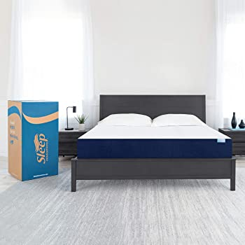 Sleep Innovations Marley 10-inch Memory Foam Mattress, Queen, White