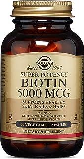 Solgar Biotin 5000 mcg, 5000 mcg - 50 Capsules