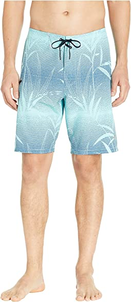 North Shore Bamboo Fade Tech Hybrid Boardshorts