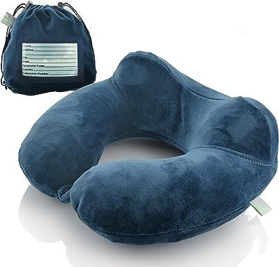 Amazon.com: aulley terciopelo en forma de U almohada ...