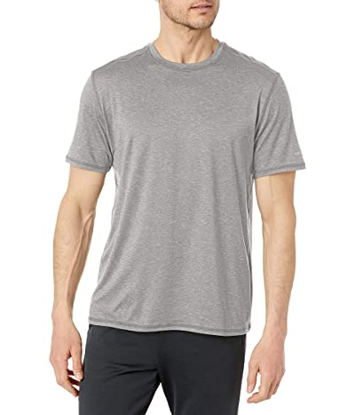 G.H. Bass & Co. Short Sleeve Stretch Performance Crewneck Solid T-shirt