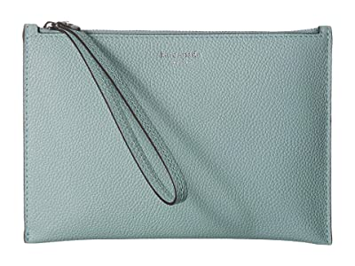 Kate Spade New York Margaux Small Wristlet (Hazy) Clutch Handbags