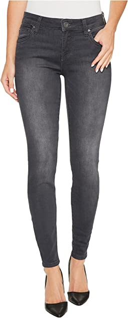 Mia Toothpick Skinny in Model w/ Dark Stone Base Wash