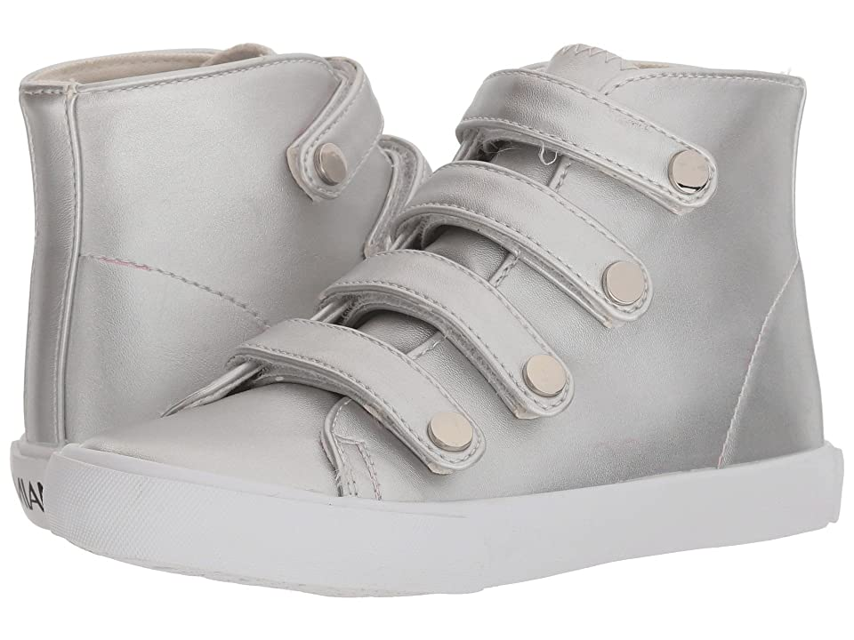 Amiana 15-A5512 (Toddler/Little Kid/Big Kid/Adult) (Silver Casual PU) Girl