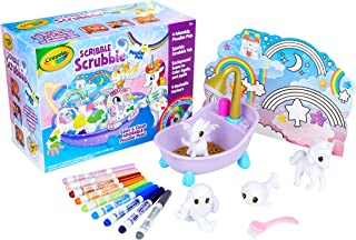 Crayola Scribble Scrubbie Peculiar Pets, Gift for Kids, Ages 3, 4, 5, 6 (Amazon Exclusive)