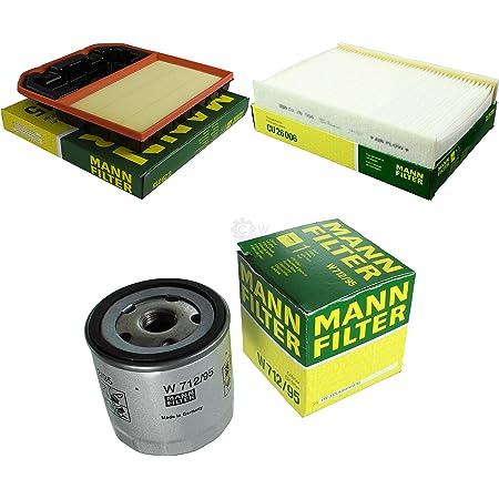 Inspektionspaket Mann Filter 5l Castrol Gtx 5w40 3 Zündkerzen Wischer Set P H 06 00152 Service Wartung Auto
