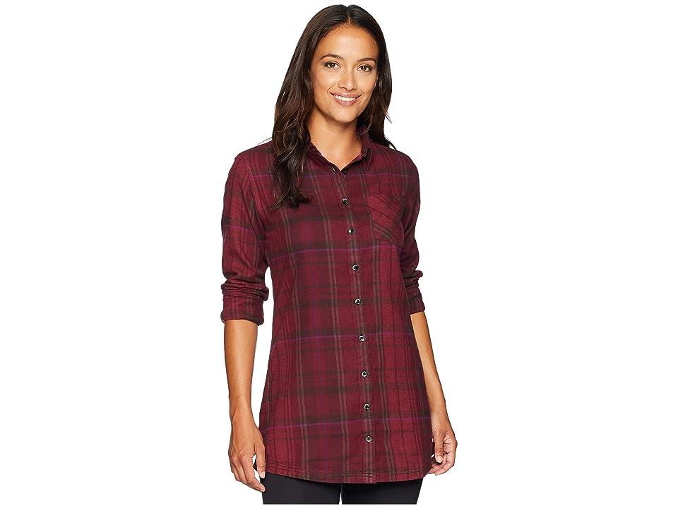 Mountain Khakis Penny Plaid Tunic Shirt (Raisin) Women