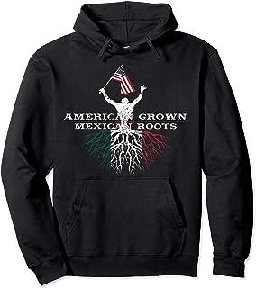 American Grown Mexican Roots Hoodie