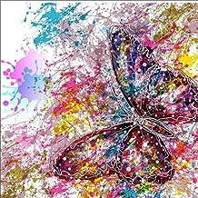 3 pezzi Youliy Kit per pittura a mosaico con perline 5D motivo: lavanda per adulti