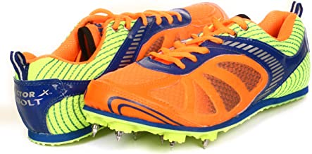 KD VX Track Shoes Athletic Running Shoes Sneakers Sprint Field Racing Spike Shoes with Removable Spike Key