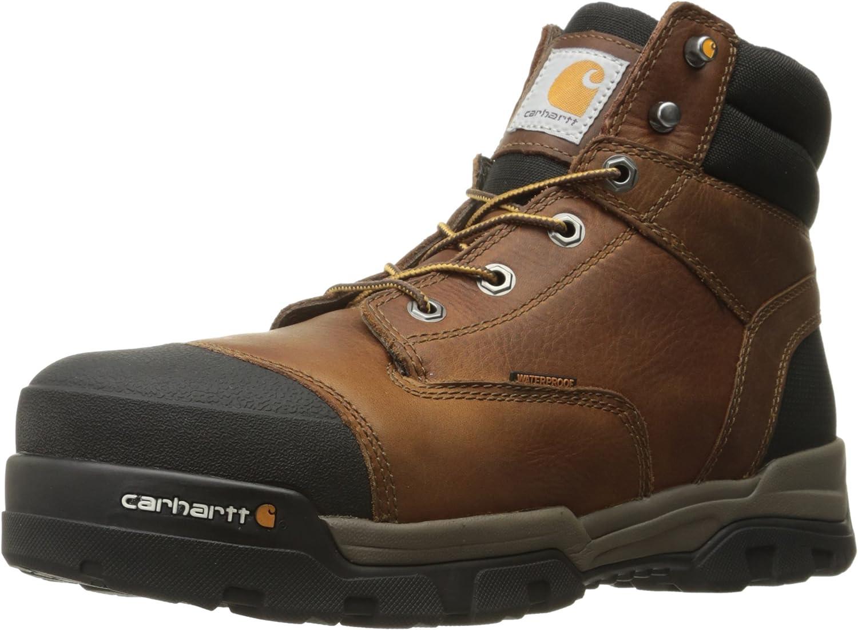 Carhartt Men's 6  Energy Waterproof Composite Toe CME6355 Industrial Boot