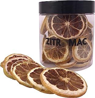 Limone giallo disidratato per cocktail. Frutta secca senza zucchero per cocktail / decorazione / guarnizione / Pasticceria...