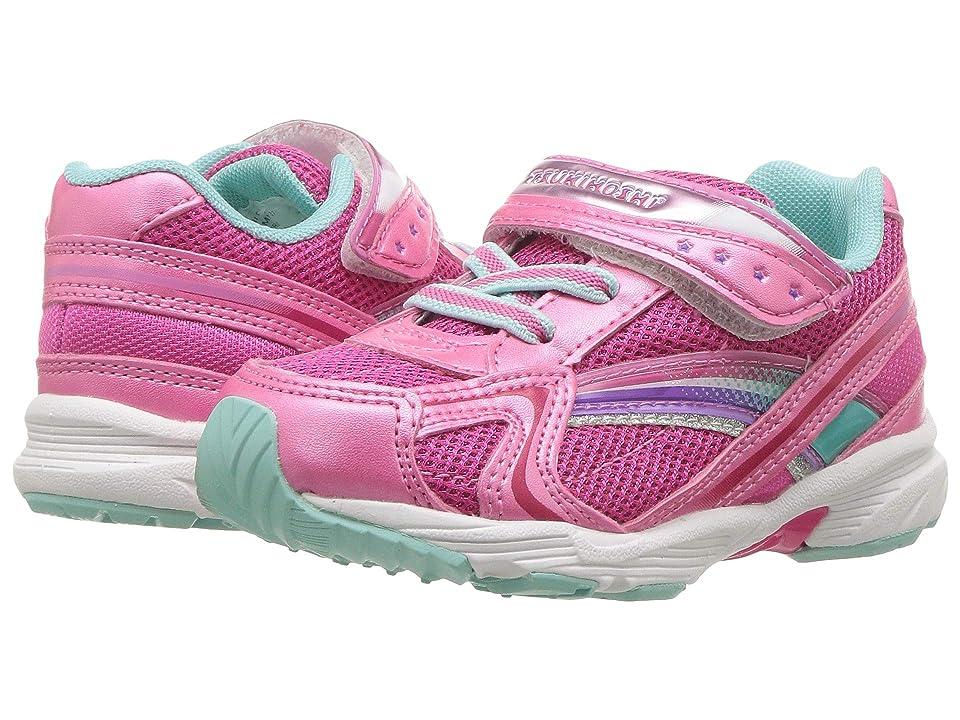 Tsukihoshi Kids Glitz (Toddler/Little Kid) (Hot Pink/Mint) Girls Shoes