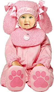 Toddler Baby Infant Cutie Poodle Pink Dog Animal Christmas Outfit Costume
