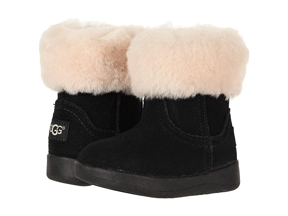 UGG Kids Jorie II (Toddler/Little Kid) (Black) Girls Shoes
