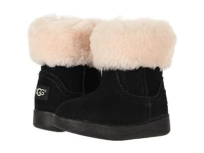 UGG Kids Jorie II (Toddler/Little Kid) (Black) Girls Shoes